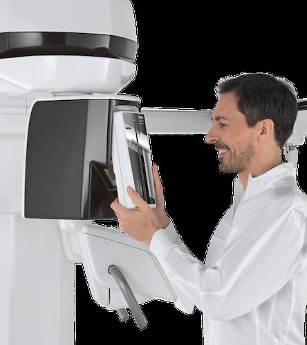 Высокочувствительный датчик 2D PAN-CEPH и рентгеновская трубка последнего поколения для четких и подробных исследований